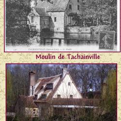 3 Le moulin avant et en 2009