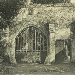 Abbaye de l'eau_portail
