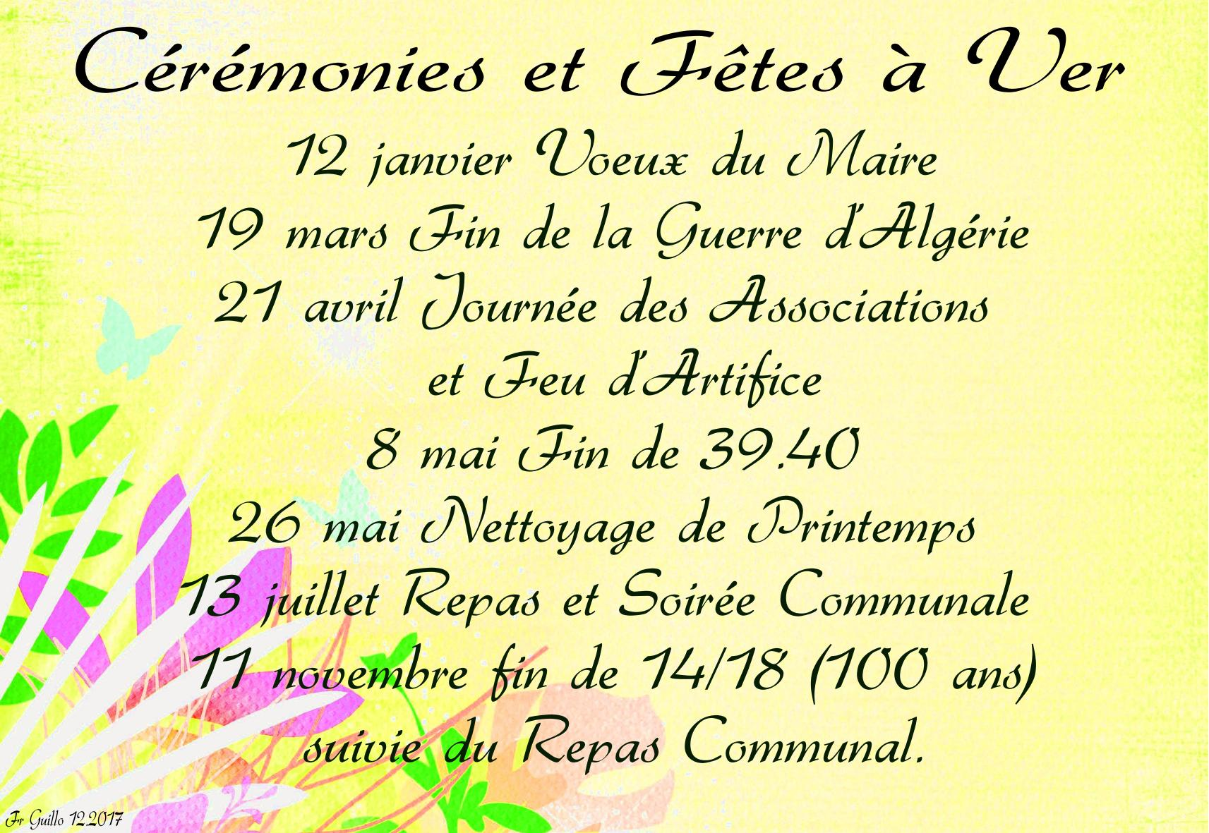2018 fetes et ceremonies bis