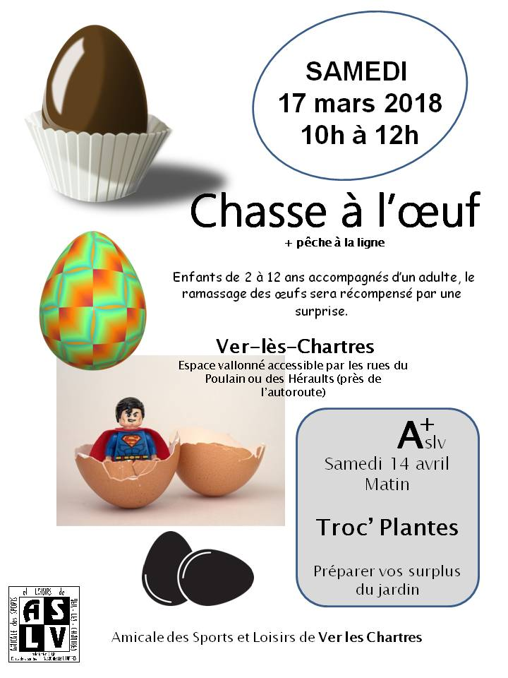Chasse aux oeufs 2019