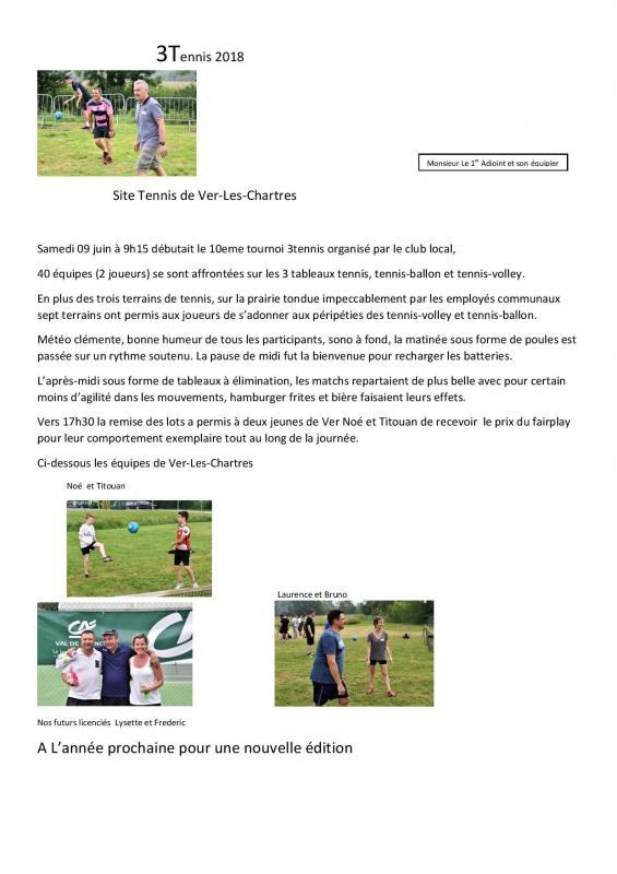 Tournoi 3 Tennis du 09 juin 20108